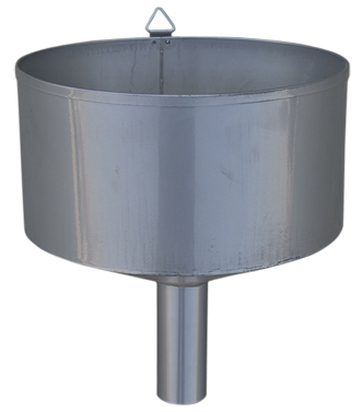 Explosion proof funnel